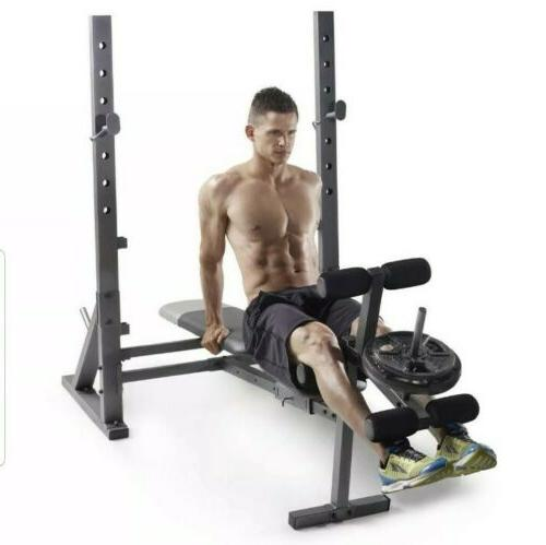 GOLDS / Weider XR 6.1 WITH LEG PRESS - FAST FREE