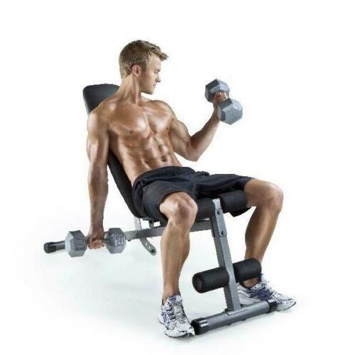 Weider Golds Gym XR 5.9 Slant Weight Bench FAST SHIP