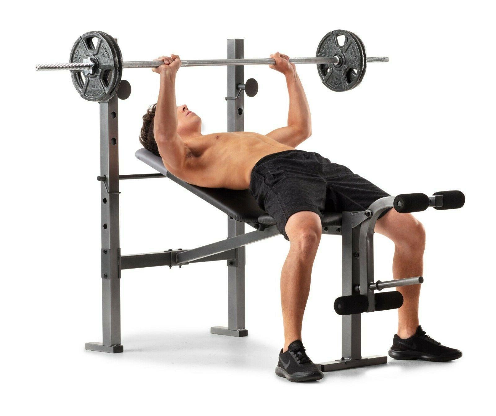 Weider XR 6.1 Workout Bench + Leg Extension +