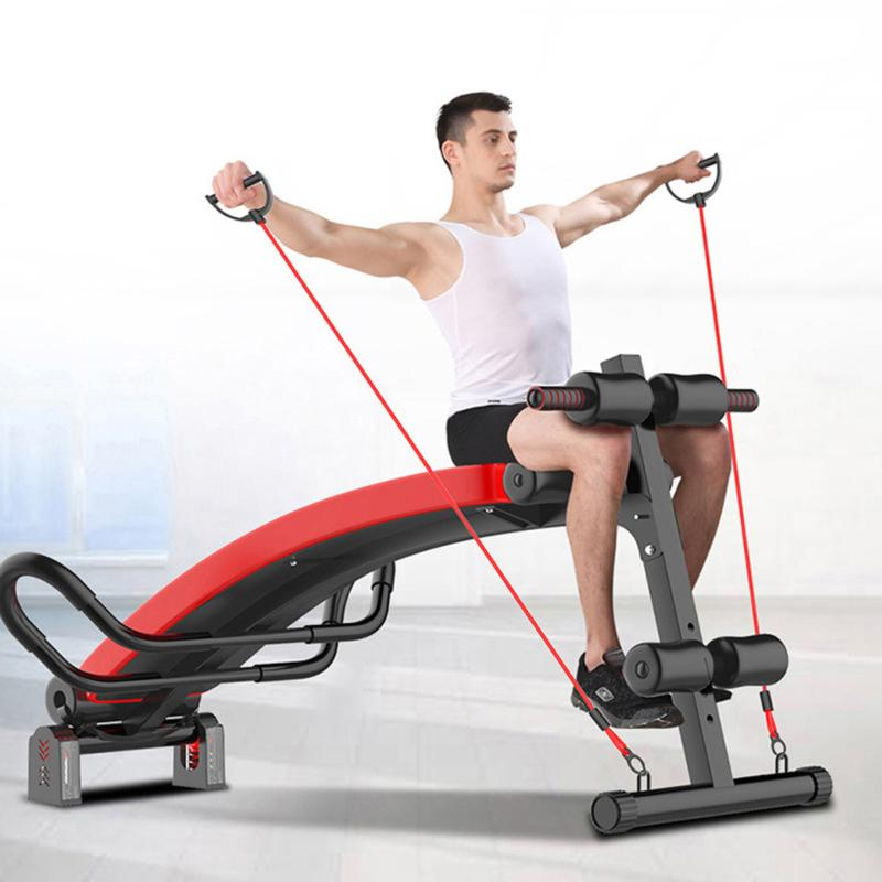 home fitness ab sit up bench abdominal
