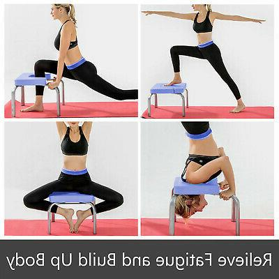 handstand bench fitness yoga chair inversion table exercise
