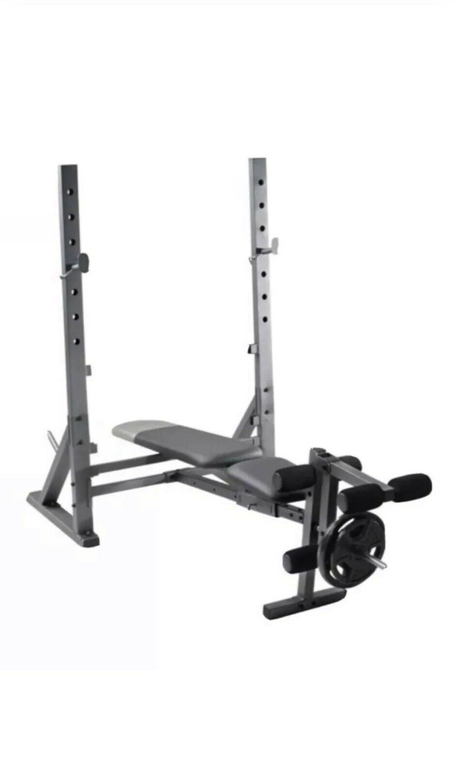 NEW 10.1 Olympic Bench
