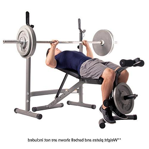 Body Weight with Extension Attachment/2 piece and Rack Stand
