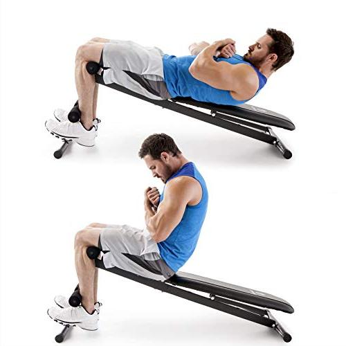 Marcy Exercise Utility for Upright, Incline, and