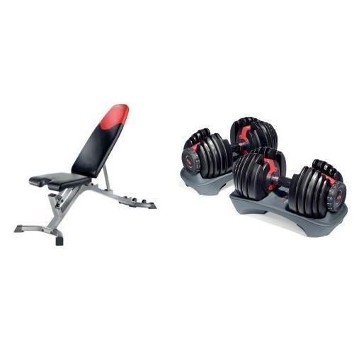 selecttech 552 adjustable dumbbells series