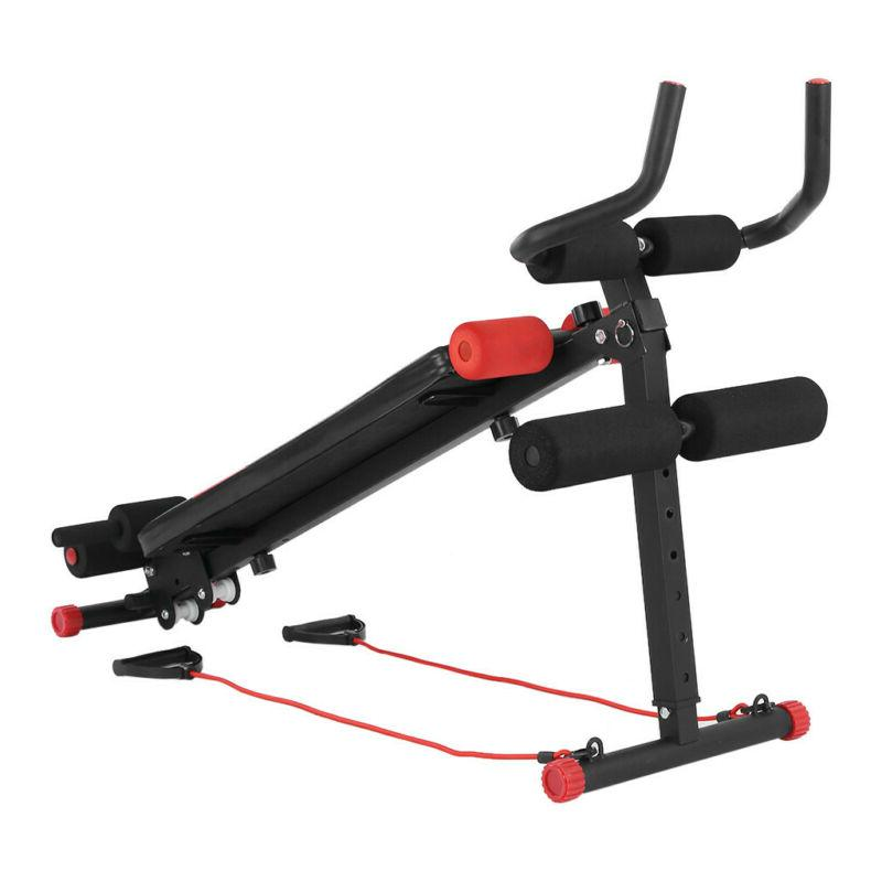 Ab Fitness Incline Exercise Adjustable Flat Gym MER