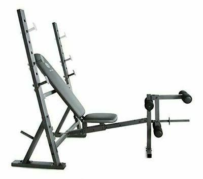 Weider XR 10.1 Olympic Weight Bench w/ Developer Storage Gym