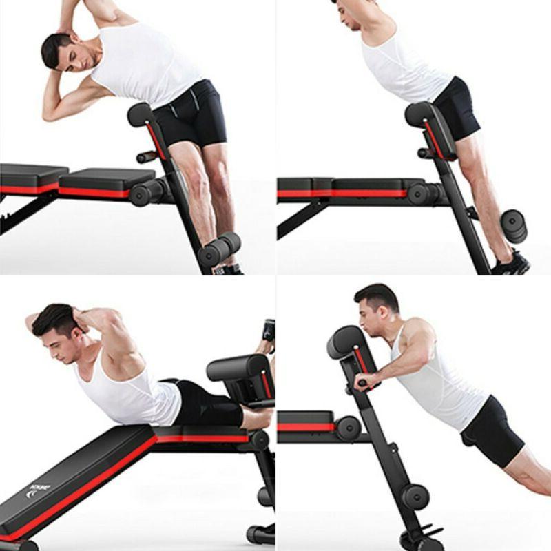 Adjustable Decline Gym Weight Sit UP Fid