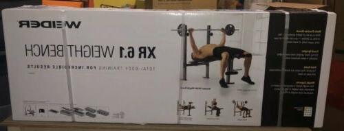 Weider XR Weight Bench Leg Developer Exercise