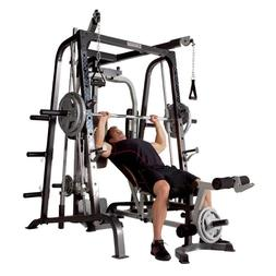 Marcy Deluxe Diamond Elite Smith Cage Home Workout Machine T