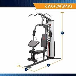 Marcy MWM-988 Multifunction Steel Home Gym 150lb Weight Stac