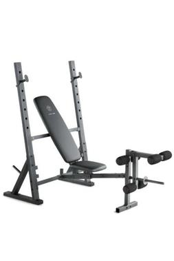 NEW Gold's Gym XR 10.1 Olympic Width Weight Bench FREE SHI