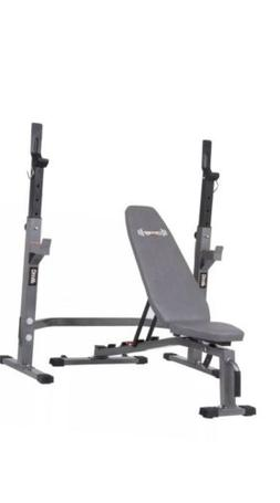 🔥NEW Body Champ Olympic Power Squat Rack & Adjustable Wei