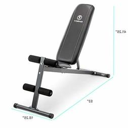 NEW Marcy SB-261W Weight Bench Exercise Adjustable Utility M