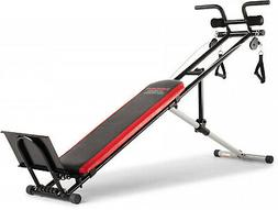 New Weider Ultimate Body Works Bench with Professional Worko