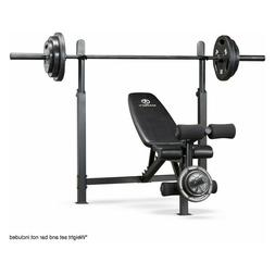 Marcy Olympic Bench with Rack MWB-732 Weight Lifting Exercis