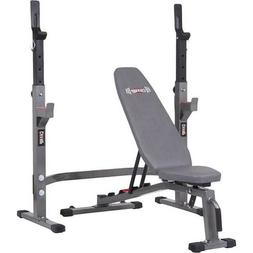 Body Champ Olympic Weight Bench & Rack Set