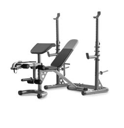 Olympic Workout Bench + Squat Rack | XRS 20 Weider & Gold's