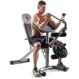 Home Weight Bench Upper Body Workout Equipment Exercise Musc