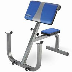 Pure Fitness Portable Preacher Curl Bench, Weight Bench