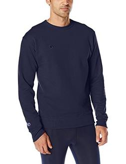 Champion Men's Powerblend Sweats Pullover Crew Navy L