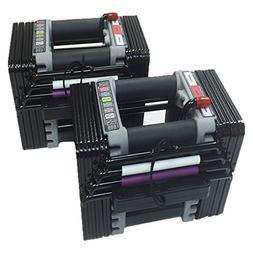 PowerBlock Elite Set Dumbell, 50-Pound , Black - EL-50Plates