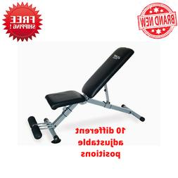 Pure Fitness Pure Fitness Pro Adjustable FID Weight Bench