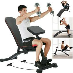 Pro Weight Bench - Adjustable Sit Up Bench Gym & Home Liftin
