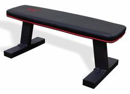 Marcy Deluxe Versatile Flat Bench Workout Utility Bench with