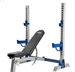 SHIPS TODAY! New - Fitness Gear Pro Olympic Weight Bench