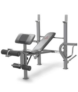 Marcy Standard Weight Bench with Leg Developer