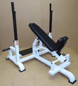 Titan Adjustable Incline Bench w/ Spotter Stand - KDA Fitnes