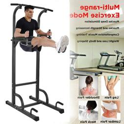 Weider Power Tower with Four Workout Stations and 300 Lb. Us