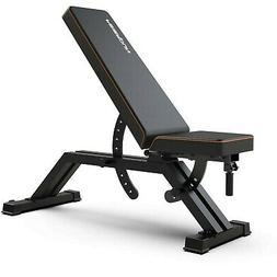 FEIERDUN Weight Bench Adjustable - Heavy-Duty Utility Workou
