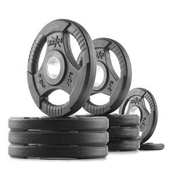 XMark Fitness XM-3377-BAL-65 Rubber Coated Olympic Plates