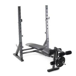Weider XR 10.1 Olympic Weight Bench with Integrated Leg Deve