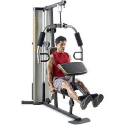 XR 55 Home Exercise Gold's Gym, weight stack, padded seat, p