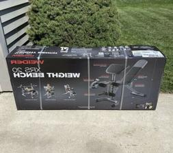 Weider XRS 20 Olympic Weight Bench Removable Preacher Pad Le