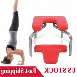 yoga headstand inversion bench chair training equipment